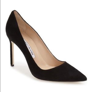 Manolo Blahnik BB Pointy Toe Pump 100mm